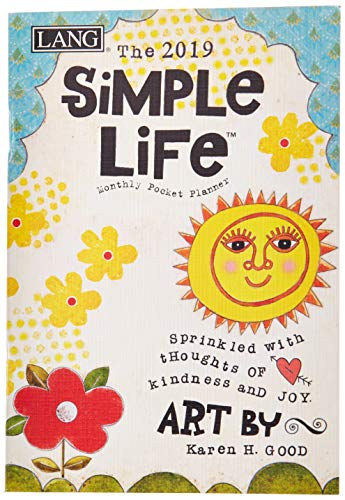 The LANG Companies Simple Life 2019 Monthly Pocket Planner (19991003166)