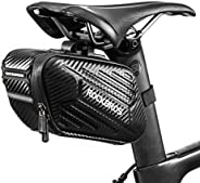 ROCK BROS Bike Bike Saddle Bag Bike Seat Bag Bicycle Under Seat Pack Hard Shell Quick Release Water Resistant