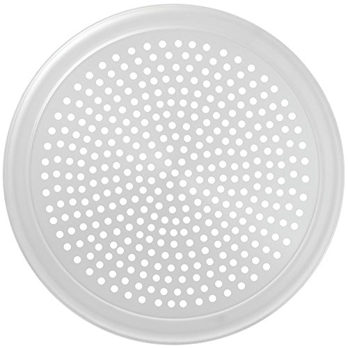 Round Pizza Screens - HUBERT Pizza Screen Perforated Aluminum - 18