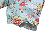Anwell Toddler Rash Guard Floral Girls One Piece