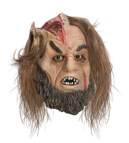 (Rubie's Men's Clash Of Titans Calibos 3/4 Vinyl Mask Halloween Costume)