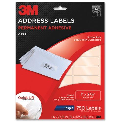 3M Permanent Adhesive Address 3500 B