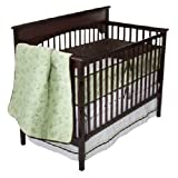 Bananafish 4pc bedding set Quilted Jungle Collection Green & Brown