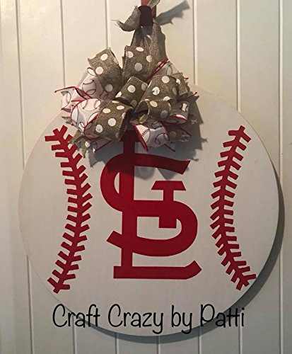 STL Baseball Door Hanger -