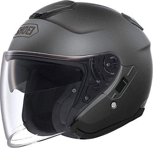 Shoei Solid J-Cruise Cruiser Helmet - Small/Matte Dark Grey