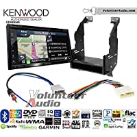 Volunteer Audio Kenwood Excelon DNX694S Double Din Radio Install Kit with GPS Navigation System Android Auto Apple CarPlay Fits 2010-2012 Nissan Sentra