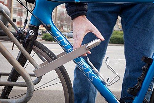 TiGr mini+ 2-Pack: 2 Bike Locks & 4 Keys (Keyed Alike) & 2 Mounting Clips by TiGr Lock (Image #4)