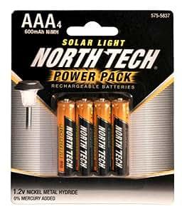 Amazon.com: Solar Light Rechargeable Batteries, Power Pack