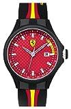 Scuderia Ferrari Men's 830009 Analog Display Japanese Quartz Black Watch, Watch Central