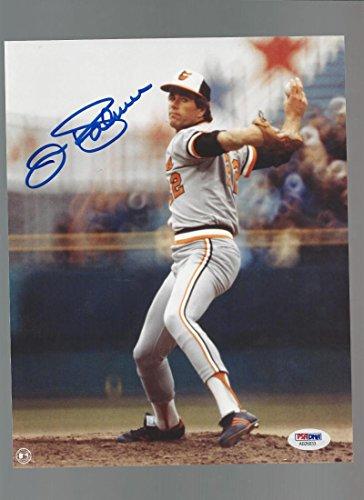 Jim Palmer Autographed 8x10 Photo PSA Certified