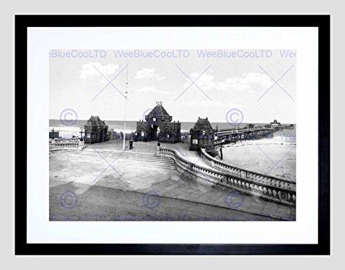 SKEGNESS THE PIER ENGLAND VINTAGE HISTOR - Vintage Black Pier Mount Shopping Results