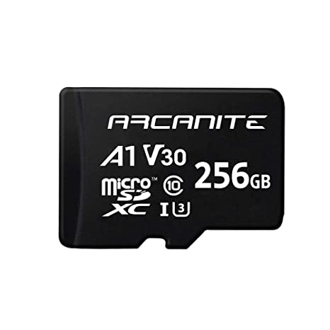 ARCANITE - Tarjeta de memoria microSDXC de 256 GB con adaptador SD ...
