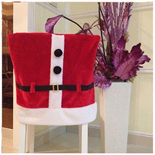 6 Pcs Christmas Decorations Santa Claus Suit Belt Buckle ...