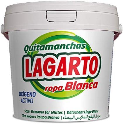 Lagarto Quitamanchas Ropa Blanca - Paquete de 6 x 600 gr - Total ...