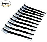 TACBRO 10PCS Double-Ended Nylon Gun Cleaning Brush Set (10 PC)