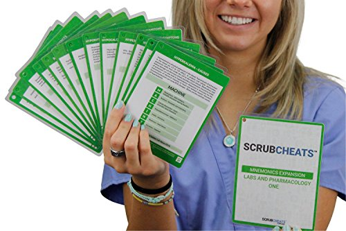 ScrubCheats Expansion Packs Nursing Mnemonics One by NRSNG (Green)