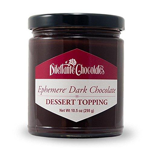 (Ephemere Dark Chocolate Dessert Topping - 10.5oz Jar - by Dilettante (3 Pack))