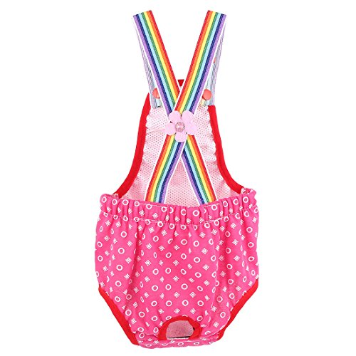 uxcell Reusable Pet Dog Diaper Suspender Sanitary Physiological Pantie Underwear Female Doggie (Doggie Pant)
