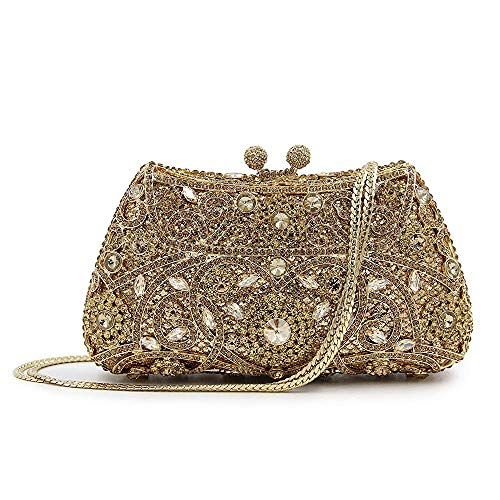 Clutch Party Wedding Bags E Handbag Superw Bag Women's Crossbody Metal Cocktail Handbag Alloy Bling Women Evening EwwSzqpFx