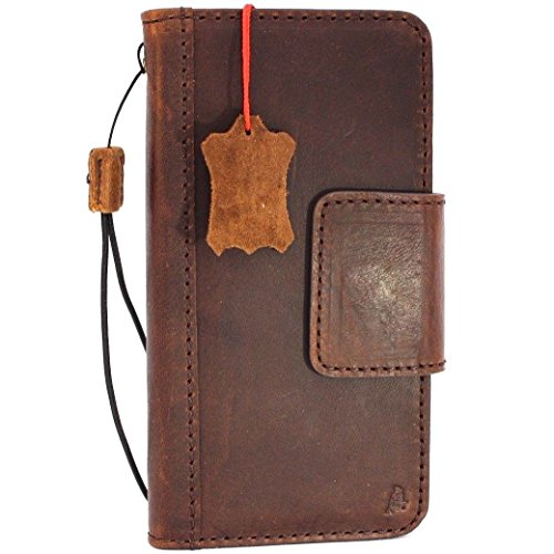 Genuine real Leather Case for Samsung Galaxy S9 plus Book Wallet Luxury magnetic closure Cover S Handmade Retro Id holder cards jafo s 9 daviscase
