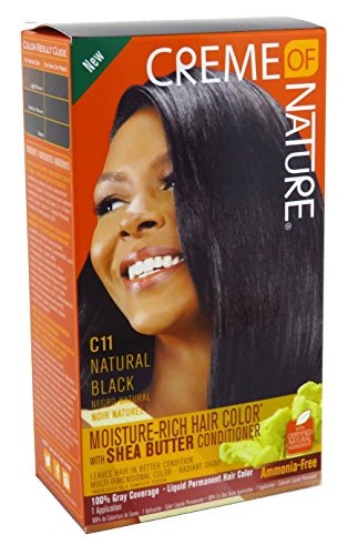 Creme of Nature Moisture Rich Hair Color with Shea Butter Conditioner - C11...