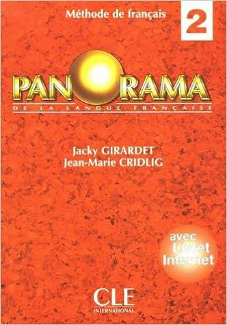 Panorama De La Langue Francaise Bd 2 Livre D Eleve Peter