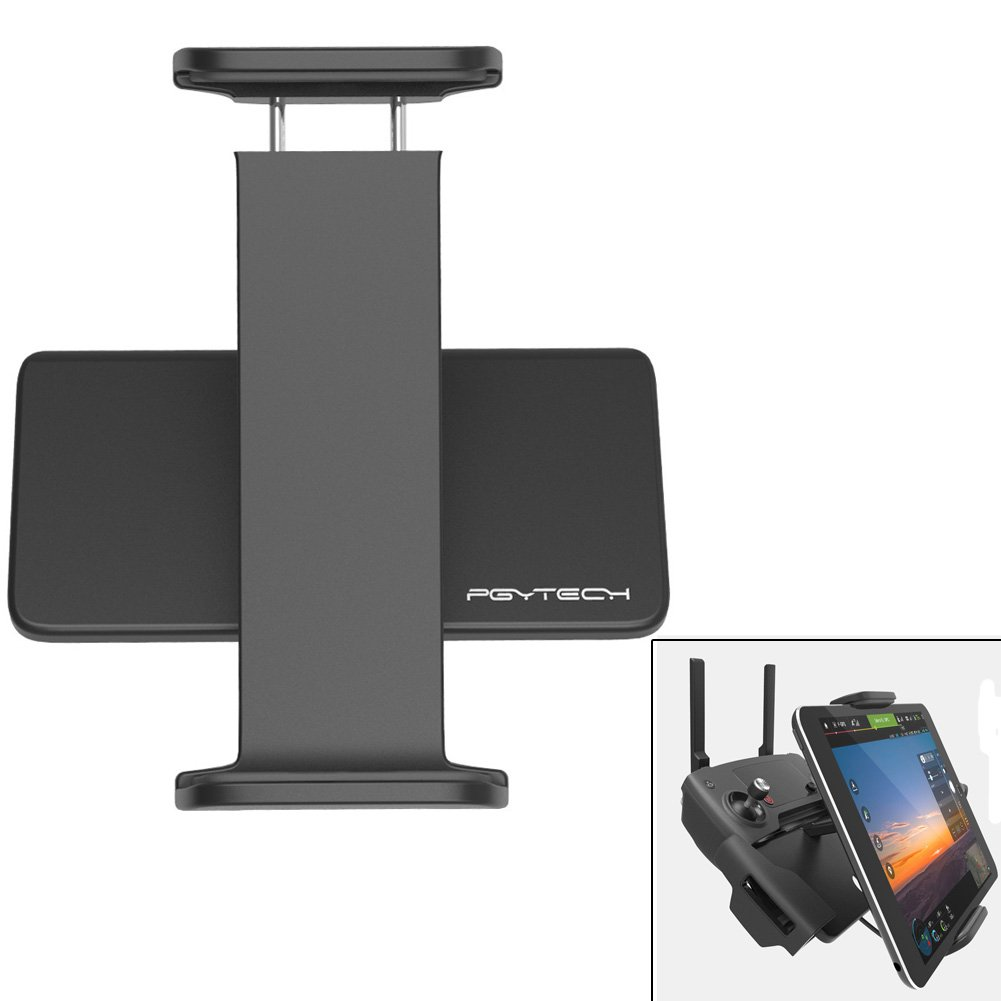 PGYTECH 4-10.5 Inchs Adjustable Tablet Mount Holder Compatible with DJI Mavic 2 Zoom/Mavic 2 Pro/Mavic Air/Mavic Pro, Foldable Bracket Aluminum Pad Holder Remote Controller Accessories Parts