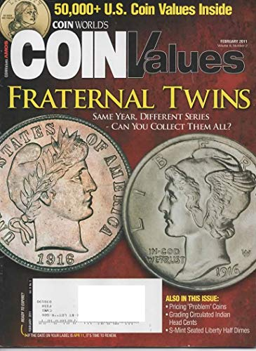 Coin World's Coin Values {Volume 9, Number 2, February 2011}