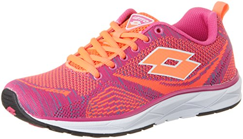 Lotto Da Mag Fl Ginnastica Donna W Net red Rosa Superlight Scarpe pnk Basse fIwqfZr