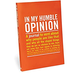 Knock Knock Inner Truth in My Humble Opinion Journal (50021)