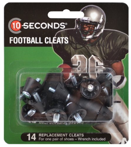 10-Seconds 14 Replacement Football Cleats 1/2