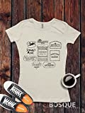 Gilmore Girls Stores Logos Luke's Diner Miss Patty's Stars Hollow inspired T-Shirt / Adult T-shirt Tee design Shirt - Ink Printed