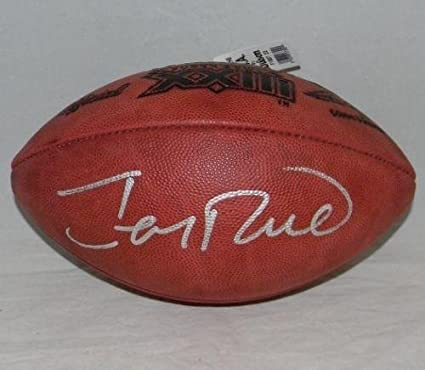 7a4db42f050 Image Unavailable. Image not available for. Color  Jerry Rice Autographed  Football - Super Bowl Xxiii 23 ...