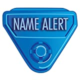 IN-A-SNAP WBCLASP-NA2 Alert Bands Clasp, Plastic,NAME ALERT Embedded Print, Interleaving Design X, Adult/Pediatric, Blue (Pack of 250)