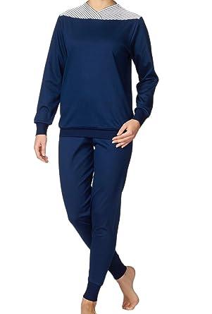Calida Damen Zweiteiliger Schlafanzug Bündchen Soft Cotton: Amazon.de:  Bekleidung