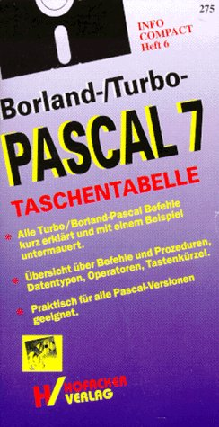 Borland-/Turbo-Pascal 7 - Taschentabelle