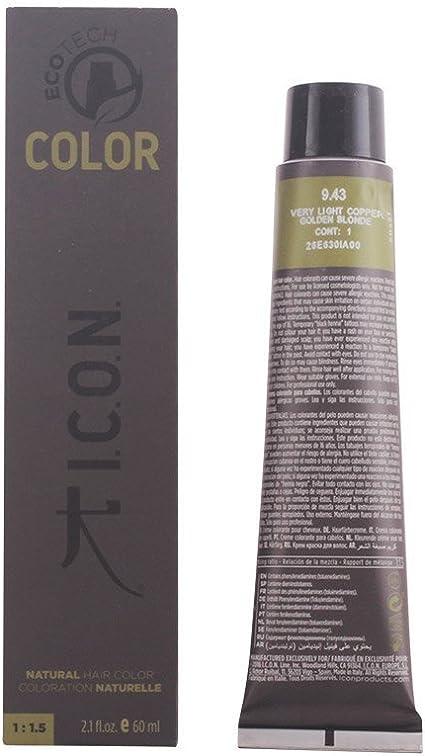 Icon Ecotech Color 9.43 Very Light Copper Golden Blonde Tinte - 60 ml