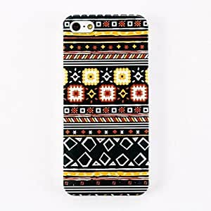 xiao Special Design Pattern Polycarbonate Hard Case for iPhone 4/4S , Multicolor
