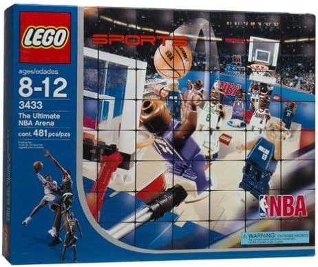 Amazon.com: LEGO Deportes: NBA Ultimate Arena: Toys & Games
