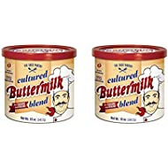 Set of 2 Saco Cultured Buttermilk for Cooking and Baking, Powdered, 12 oz bundled by Maven Gifts