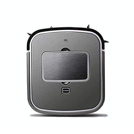 J&A Aspirador Robótico, Aspirador Cuadrado Ultrafino De 3 Cm con Sistema Anticaída Y Autocargado para Alfombras De Pelo Bajo, Piso Duro 2000mAh (Color ...
