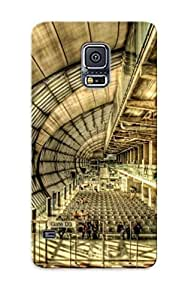 Catenaryoi Durable Defender Case For Galaxy S5 Tpu Cover(supermarine Spitfire) Best Gift Choice