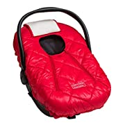 Cozy Cover Premium Infant Car Seat Cover (Red) With Polar Fleece - The Industry Leading Infant Carrier Cover Trusted By Over 5.5 Million Moms For Keeping Your Baby Warm