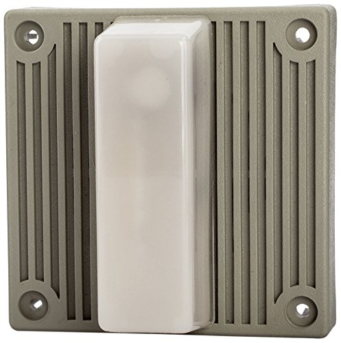 Steel Mechanical Strobe Horn, 120VAC, 0.115 Amp Input Current, 96dB at 10' Range, 15 Candela Intensity by