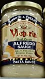 Victoria Alfredo Sauce, Real Cream 16 Oz (Pack of 2)