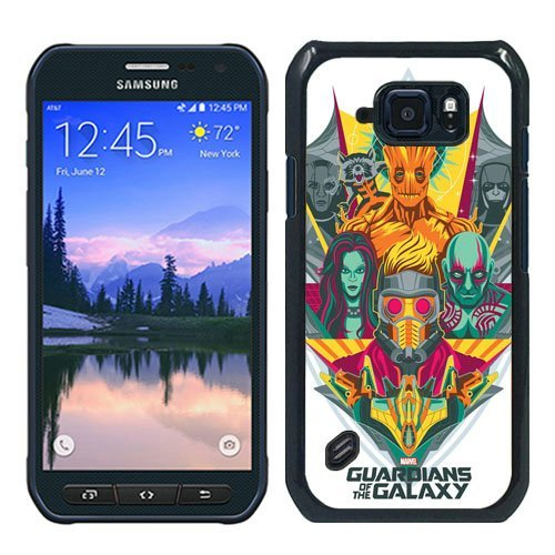 Ukiyya S6 Active Air Cushioned Case,Guardians of the Galaxy Premium Hybrid Protective Plastic Case for Samsung Galaxy S6 (Guardians Of The Galaxy For Sale)