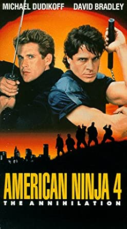 Amazon.com: American Ninja 4:Annihilation [VHS]: Michael ...