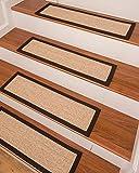 NaturalAreaRugs Edmond Sisal Carpet Stair Treads 9 x 29'' (Set of 13)