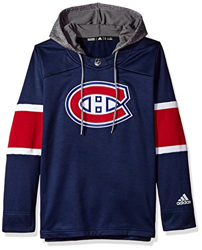 (NHL Montreal Canadiens Authentic Crewdie Jersey, Navy, Large)
