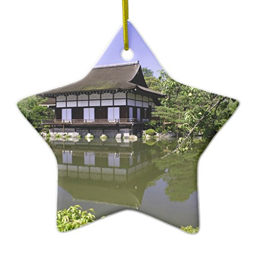Zazzle Japan, Kyoto, Japanese Garden Of Heian Shrine Metal Ornament - Garden Heian Shrine